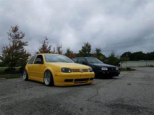 My Mk3 Vr6 And A Mk4 Gti 1 8 Turbo