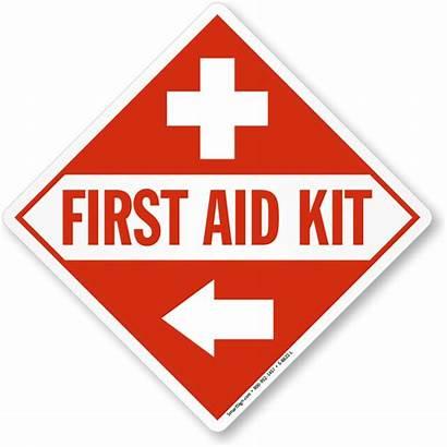 Aid Kit Signs Emergency Symbol Medicine Arrow