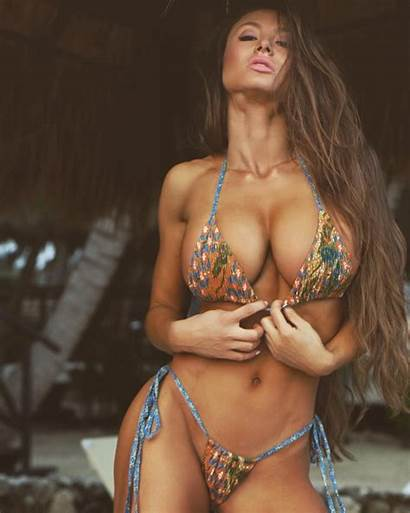 Michie Peachie Fitness Bikini Models Bodies Busty