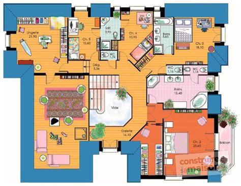 bureau de maison design vaste maison familiale dé du plan de vaste maison