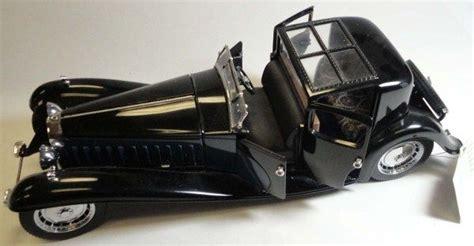 Recreation of the bugatti royale packard prototype. 1930 Bugatti Royale Coupe Napoleon Franklin Mint