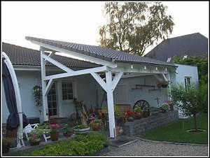 terrassen berdachung aus holz selbst bauen terrasse With terrassenüberdachung selbst bauen