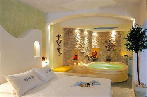 chambre avec privatif nord astarte suites santorini suites de luxe honeymoon hôtel