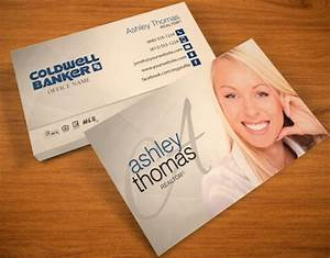 Realtor business cards business cards for real estate agents for Coldwell banker business cards