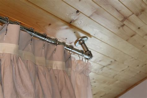 ceiling mount curtain rods lowes home design ideas