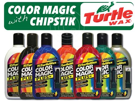 turtle wax color magic turtle wax color magic enhancing with chipstik