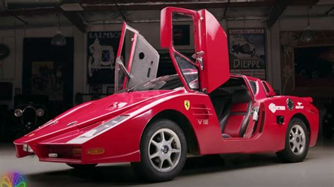 A standard car weighs around 2000lbs to 2500lbs (see how much does my car weigh). See Jay Leno Drive A Fake Ferrari Enzo