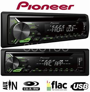Pioneer Deh 1900ubg Auto Cd Mp3 Stereo Usb Aux Android
