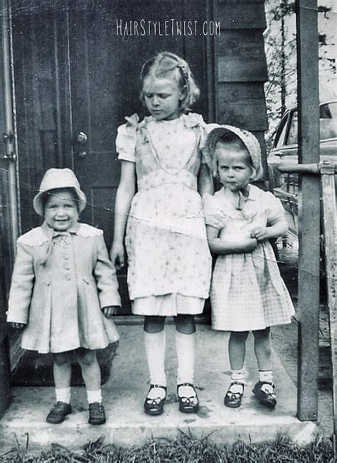 1940s Childrens Hairstyles by 1930s Hairstyles