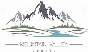 Abstract High Mountain Icon stock vector art 479369060 ...