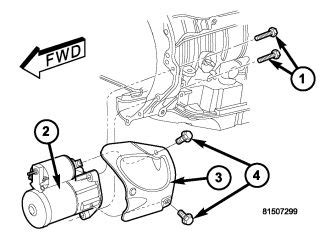 2007 Jeep Commander Starter Wiring by Starter Removal Front Drive Shaft Question Jeep