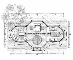 Tree House Floor Plan with Dimensions