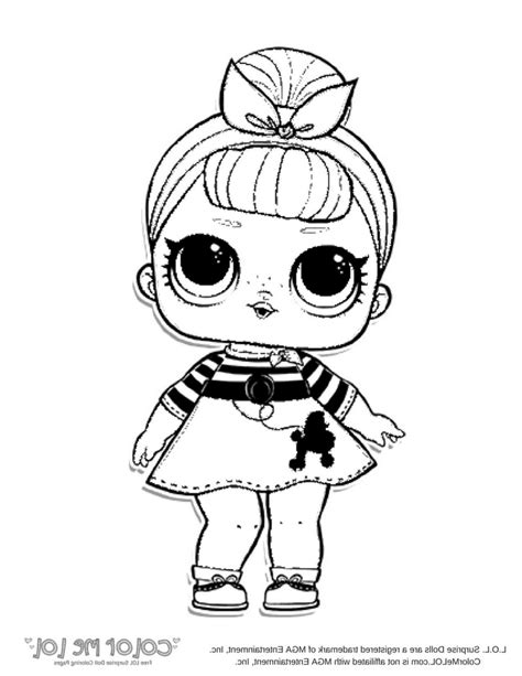 lol dolls coloring pages  print baby doll printable
