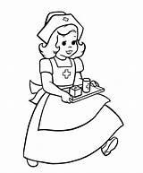 Nurse Coloring Clipart Pages Nurses Cartoon Doctor Cliparts Drawing Line Library Clip Appreciation Nursing Angela Abc Books Child Alphabet Attribution sketch template