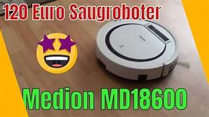 Medion Md 18600 Test : medion saugroboter md18600 unboxing test saugt der was youtube ~ Watch28wear.com Haus und Dekorationen
