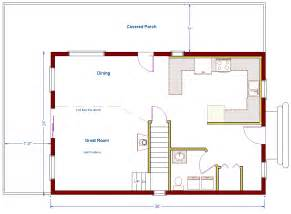 Cabin With Loft Plans Free by Home Design 24x24 Cabin Designs 24x24 House Designs