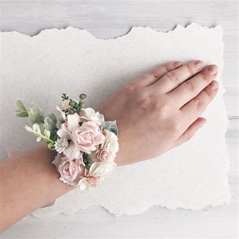 wrist corsage ideas  pinterest wrist