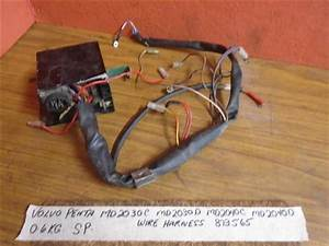 Volvo Penta Md2040c Md2040d Engine Wire Harness 873565 Volvo Penta Md2010c  Md2010d  Md2020c