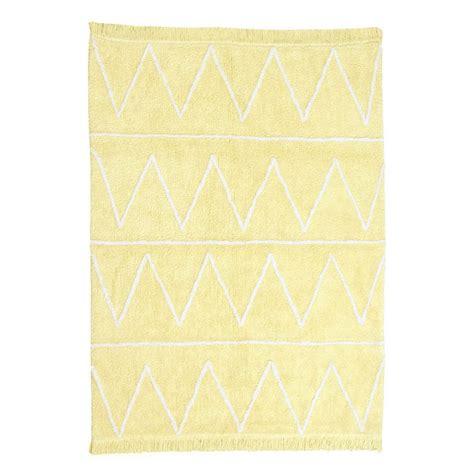 tapis enfant hippy soft jaune canals 120x160
