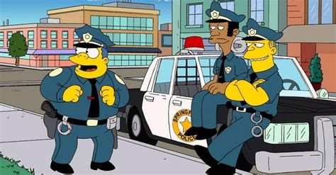 the 40 cops on animated tv shows