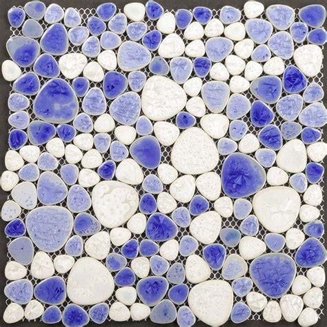pebble ceramic tile wholesale collection mixed porcelain pebble tile sheets for fireplace wall border tile heart