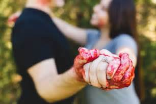 asha engagement ring murder themed engagement photo shoot kills stereotypes says houston chronicle