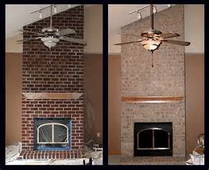 Fireplace Brick Stain Colors