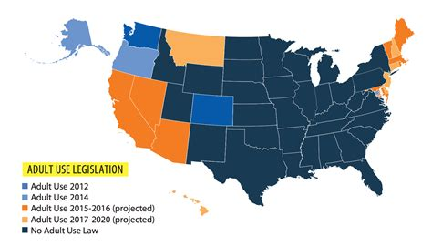 where marijuana is report predicts 18 states by 2020 time