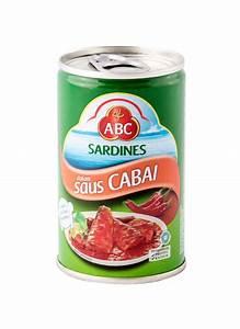 Abc Sardines Chili Klg 155g