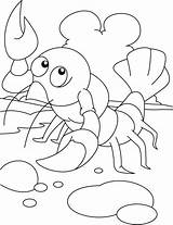 Coloring Pages Alphabet Lobster Animal Bestcoloringpages Numbers Letters sketch template
