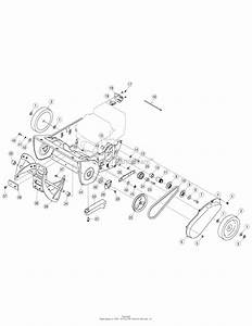 Mtd 31am2n1c799  247 88705   2008  Parts Diagram For Drive Assembly