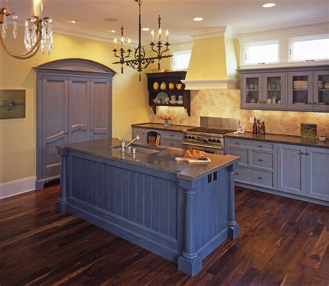 country blue kitchen blue and yellow kitchen 2686