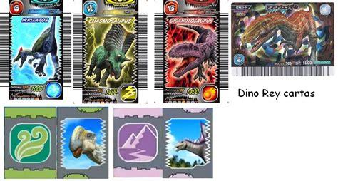 Todas las cartas y dino saurios. Archivo:Dino rey cartas.png - Dino rey fanon Wiki