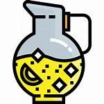 Lemonade Cartoon Grenade Svg Icon Pitcher Vectors