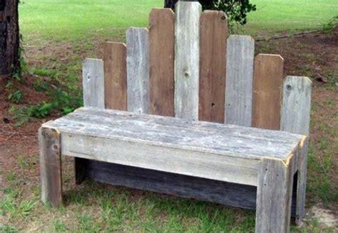 fabriquer un canapé en bois salon de jardin en palettes de bois cgrio
