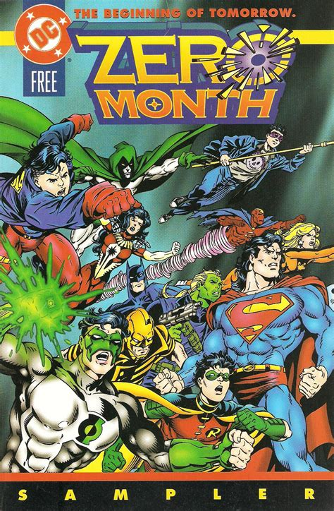 zero month dc 1994 histories sampler hour ifanboy