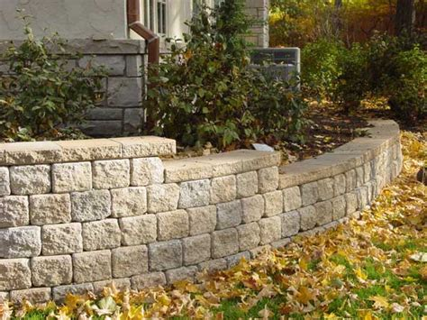 Paver Brick Wall by Grayslake Unilock Walls Paver Design Brick Wall Installation