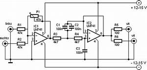 Subwoofer Filter Schematic Diagram  62341
