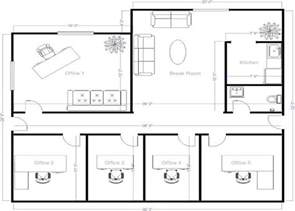 Smart Placement Townhouse Layout Design Ideas by 4 Small Offices Floor Plans Small Office Layout Floor