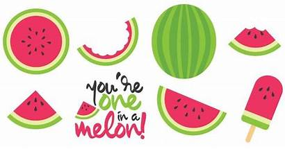 Watermelon Clipart Cut Clip Melon Summer Water