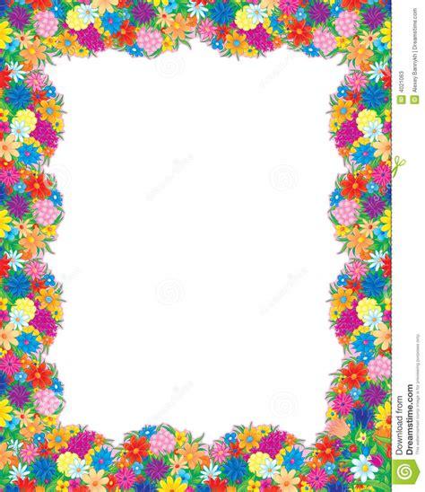 Cornici Floreali Da Stare Foto Frame Das Flores Ilustra 231 227 O Stock Ilustra 231 227 O De