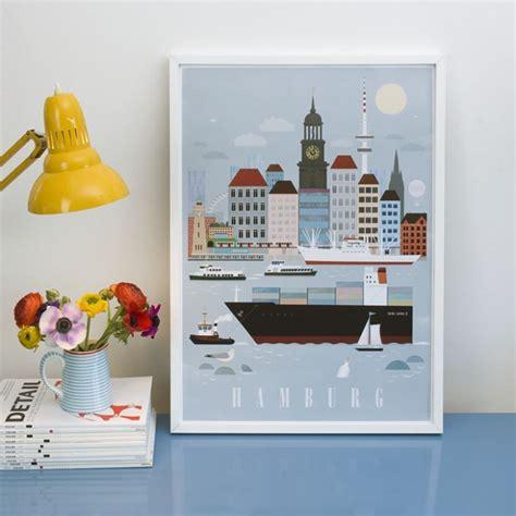 Human Empire Hamburg City Poster (50x70cm) selekktcom