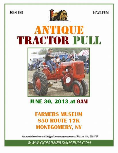 Tractor Antique Pull Association Power Cooperation Hollow