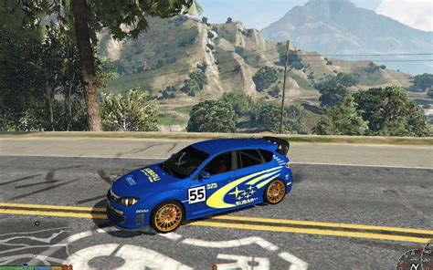 World Rally Team by Subaru World Rally Team Livery Gta5 Mods