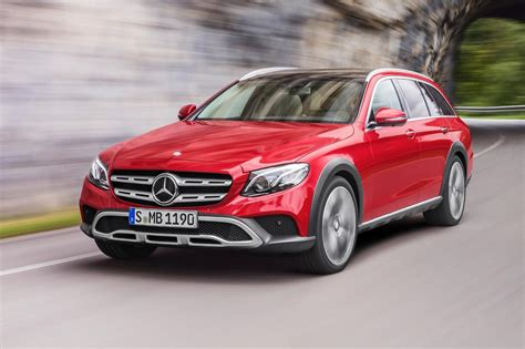 New E-class All-terrain Revealed By