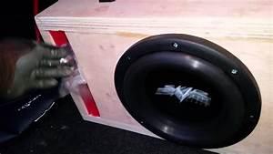 8 Inch Skar Audio Vvxv3 400w Rms Subwoofer