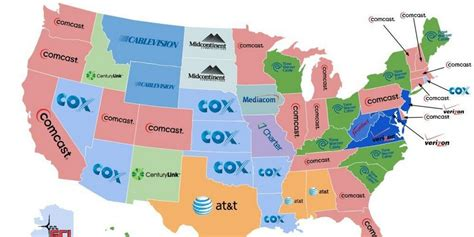 This Is The United States Of Comcast, Depressing Map Shows