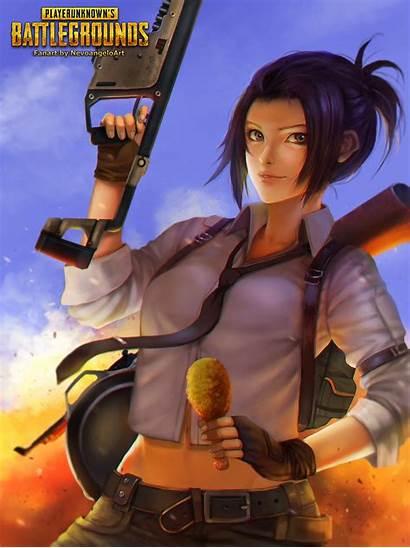 Battlegrounds Playerunknown Pubg Fanart Anime Zerochan Deviantart
