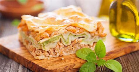 recette de lasagnes minceur saumon courgettes