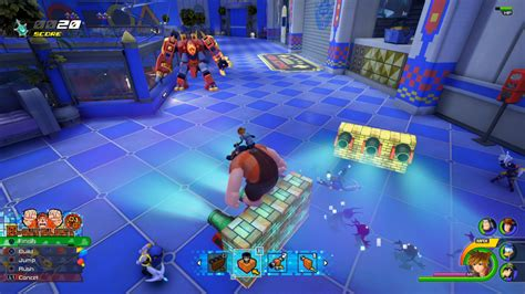 kingdom hearts iii hands  wreck  ralph toy story